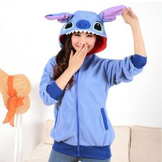 Special offer Sweatshirt Dinosaur Stitch Hoodie Tracksuit For Women Men Hooded Hoody Costume Cosplay moleton feminino ropa deportiva mujer just only $17.01 with free shipping worldwide  #womanhoodiessweatshirts Plese click on picture to see our special price for you
