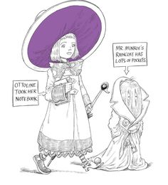 Join Children's Laureate, author and illustrator Chris Riddell in conversation with journalist Rosie Goldsmith as he tells the stories behind beloved and award-winning creations such as Goth Girl and Ottoline. This special family event is suitable for adults and children aged 7 and over. Saturday 3 December, 2.30 – 4.15pm. Find out more at vam.ac.uk/whatson Ottoline and the Purple Fox © illustrations Chris Riddell, 2016