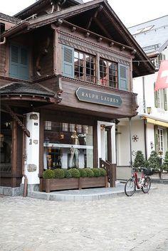 ralph lauren storefront, gstaad, switzerland