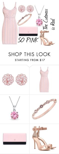 My Pink Set #2 by sandstormthenerd on Polyvore featuring Hervé Léger, Gianvito Rossi, MCM, Givenchy, Emilio!, Bling Jewelry and wedding