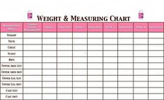 weight and measure chart more measuring charts fit charts meals laugh ...