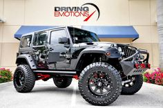 Car brand auctioned:Jeep Wrangler Unlimited 2014 Car model jeep wrangler unlimited sport custom upgrades lifted led lights loaded