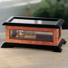 DIY Music Box Plan - Build a music box for a great holiday gift! Our 2-in-1 plan makes it easy. Designed to hold our 18, 30, and 72 note musical movements.