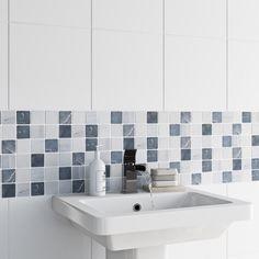 Mosaic Pebble Tile 302mm x 302mm - 1 sheet VictoriaPlum.com
