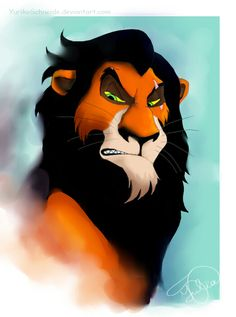 My all-time favorite character from The Lion King.....Scar<3 <3