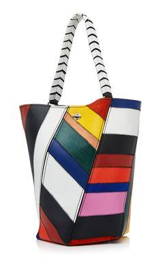 b16881fef Proenza Schouler Patchwork Designs, Smooth Leather, Baggage, Proenza  Schouler, Bucket Bag,
