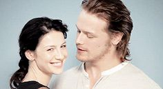 Sam & Catriona GIF IRL  Outlander Recap: OMG, They Finally Really Did it