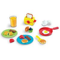 Learning Resources Pretend & Play Rise & Shine Breakfast Set