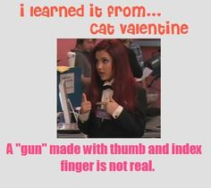 What we learn from Cat Valentine
