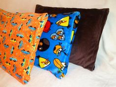 Quilt Kisses: Minky Pillow Case Tutorial (has a flap to cover end of pillow)