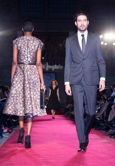 #Moda #Homem #Fato #Gravata #Sapatos #Desfile #Festa #Inverno #ElCorteInglés