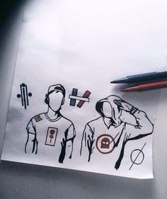 I wish I was creative enough to come up with clique art, on the other hand, if someone would find me who created this, I really want to give credit!!