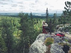 Sonka, Rovaniemi, Finnish Lapland. Photo by janijohansen Instagram: Laid back Sundays are made of picking mushrooms and blueberries, a good picnic and climbing with family and friends 👌 📷: @ilkki janijohansen #ProtectOurWinters #POWFinland #FlatlightCreative #jkshoplohja #hydrapak #high5nutrition #climbing #visitlapland #visitfinland #ourlapland #onlyinfinland #outdoorfinland #natureaddict #liveauthentic #wildernessculture  #letsgosomewhere