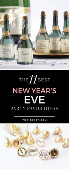 New Year's Eve party favor ideas