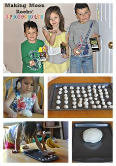 make your own moon rocks