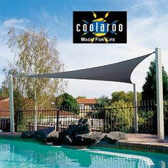 Triangle Shade Sails with DIY Accessory Kit