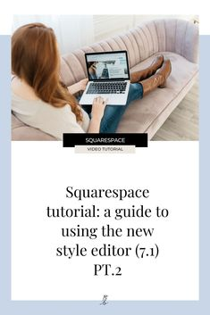 In part 1 of this mini style editor series we talked about how to use the site styles editor to customize your fonts. Ready for part 2? #squarespace #squarespacewebsite #squarespacetemplates #websiteideas #squarespacetips #webdesigner #wearethecreativeeconomy #createcultivate #paigebrunton Simple Website Design, Beautiful Website Design, Website Design Inspiration, Editor, Web Design, Tips, Fonts, Templates, Watch
