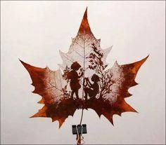 Yaprak İşleme Sanatı