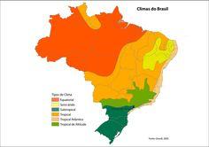 Como se sentir confortável com o clima do Brasil?