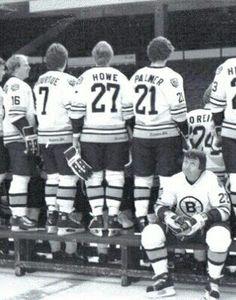Brad Park Brad Park, Poke The Bear, Boston Bruins Hockey, Rangers Hockey, Ice Rink, Boston Sports, New York Rangers, Hockey Players, Getting Old