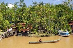 Ilha do Combu é a versão doce de Belém capital do Pará