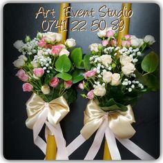 Wedding candles #wedding #arteventstudio #https://www.facebook.com/ArtEventStudio/ #rosesbouquet