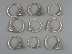 Earrings | Tuareg silver