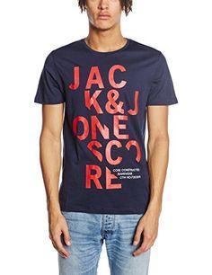 JACK & JONES Men's Crew Neck Short Sleeve T-Shirt -  Blue... https://www.amazon.co.uk/dp/B01A6N0X6Q/ref=cm_sw_r_pi_dp_Agvuxb5JE4J5K