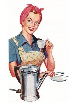 vintage coffee.  We had a percolator when we got married in 1975.