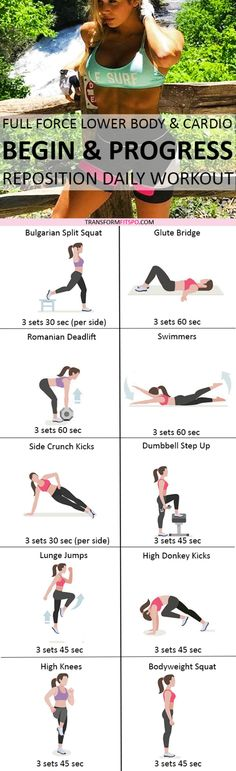 Repin and share if this workout gave you crazy fat loss! Read the post for the exercise descriptions.