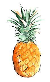 Pineapple art.