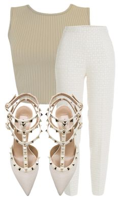Untitled #930 by whokd on Polyvore featuring polyvore, fashion, style, Giambattista Valli and Valentino