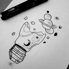 Ink Pen Drawings, Easy Drawings, Sketch Tattoo Design, Aesthetic Drawing, Black And White Drawing, Pictures To Draw, Pencil Art, Doodle Art, Art Inspo