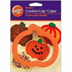 "Wilton Comfort Grip"" 4"" Cookie Cutter, Pumpkin 2310-600"