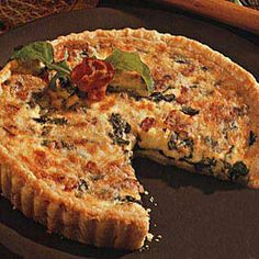 I have made this several times and it is always a huge hit! Arugula and Bacon Quiche