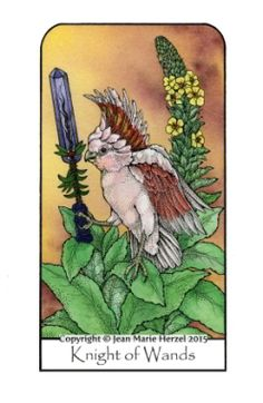 The Nature Spirit Tarot by Jean Marie Herzel.