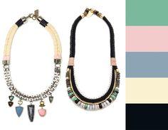 Lizzie Fortunato Jewelry Boho Statement Necklaces