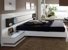 modern bedroom furniture sets and design catalogue. modern bed designs, modern bedroom furniture design, and wooden dressing table designs for bedroom. Bedroom Bed Design, Bedroom Furniture Design, Modern Bedroom Design, Bed Furniture, Home Decor Bedroom, Deco Design, Luxurious Bedrooms, House Rooms, Cots
