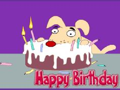 Funny happy birthday animated gifs, pictures and happy birthday images. Advance Happy Birthday Wishes, Birthday Animated Gif, Happy Birthday Gif Images, Birthday Wishes Gif, Happy 19th Birthday, Happy Birthday Sister, Happy Birthday Funny, Birthday Greetings, Birthday Gifs