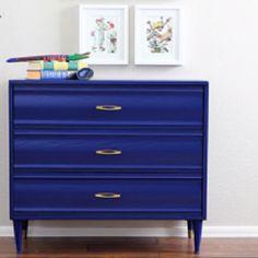 Blue dresser - Admiral Blue Benjamin Moore