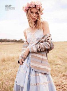 Rosie Tupper by Nicole Bentley for Vogue Australia