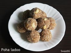 Ladoo recipes 35 easy ladoo recipes Laddu recipes for diwali Easy Ladoo Recipe, Indian Desserts, Indian Food Recipes, Diwali Special Recipes, Rice Flakes, Holidays With Kids, Easy Snacks, Recipe Collection