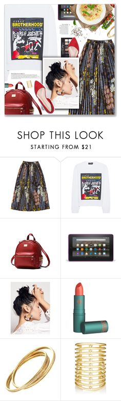"""Brothers In Arms, Dire Straits"" by blendasantos ❤ liked on Polyvore featuring Dsquared2, Maybelline, Anja, Free People, Cartier and Jules Smith"
