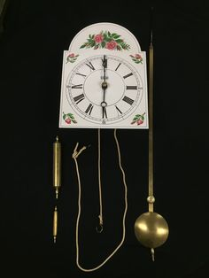 From the Vault By Alexandra Kroeger, Assistant Curator  Although it looks similar to the typical Mennonite Kroeger clock, it was not made by the Kroeger family. This clock, still bearing its original makers mark, was made by Kornelius Hildebrand in 1856. According to a piece of paper that used to be attached to the back of the clock, it was repainted twice - in 1912 and 1968 - before being repaired and restored by Arthur Kroeger in 2002.  It probably came into the family after the marriage…