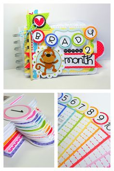 Doodlebug and Scor-Pal mini album  by Stephanie Buice