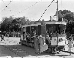 ﺗﺮﺍﻡ ﺭﻗﻢ 10 ﻳﻨﺘﻈﺮ ﻓﻲ ﻣﻴﺪﺍﻥ ﺍﻟﻌﺘﺒﺔ ﺍﻟﺨﻀﺮﺍﺀ ﻋﺎﻡ Cairo, 1939