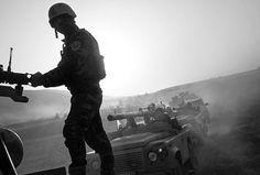 Peshmerga soldiers. Iraq 2016 © Paolo Pellegrin