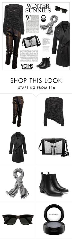 """""""Yoins"""" by vidrica ❤ liked on Polyvore featuring Dolce&Gabbana, Carianne Moore, Echo Design, Ray-Ban, MAC Cosmetics, yoins and wintersunnies"""