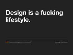 GFDA (Good F*cking Design Advice) by Brian Buirge and Jason Bacher    goodfuckingdesign...