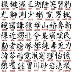 Japanese Tattoo Character Tattoos Of Designs And Ink Chinese Symbol Tattoos, Japanese Tattoo Symbols, Japanese Symbol, Japanese Kanji, Chinese Symbols, Japanese Words, Chinese Alphabet, Tattoo Japanese, Japanese Sleeve
